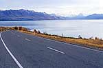 Mount Cook and highway