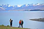 Overseas tourists, Lake Tekapo