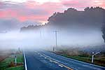 Road on a misty morning, St Arnaud