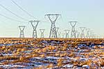 Power pylons on National Grid