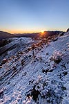 Awatere valley winter sunrise