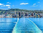 Wellington CBD and harbour