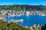 Wellington City and Lambton Harbour