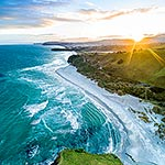Smaills Beach, Dunedin south coast